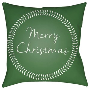 Surya Merry Christmas II Pillow