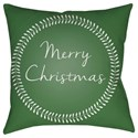 Surya Merry Christmas II Pillow - Item Number: HDY074-2020
