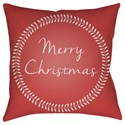 Surya Merry Christmas II Pillow - Item Number: HDY075-2020