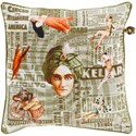 Surya Mind Games Pillow - Item Number: MNG002-2020
