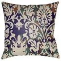 Surya Moody Damask Pillow - Item Number: DK001-2222