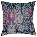 Surya Moody Damask Pillow - Item Number: DK002-2222