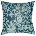 Surya Moody Damask Pillow - Item Number: DK003-1818