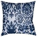 Surya Moody Damask Pillow - Item Number: DK004-1818