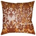 Surya Moody Damask Pillow - Item Number: DK006-1818