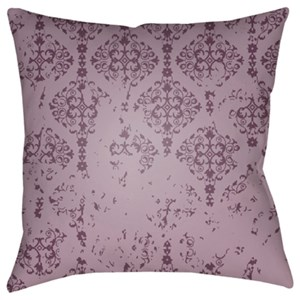Surya Moody Damask Pillow