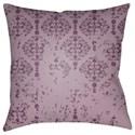 Surya Moody Damask Pillow - Item Number: DK008-2222