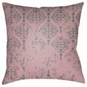 Surya Moody Damask Pillow - Item Number: DK009-2222