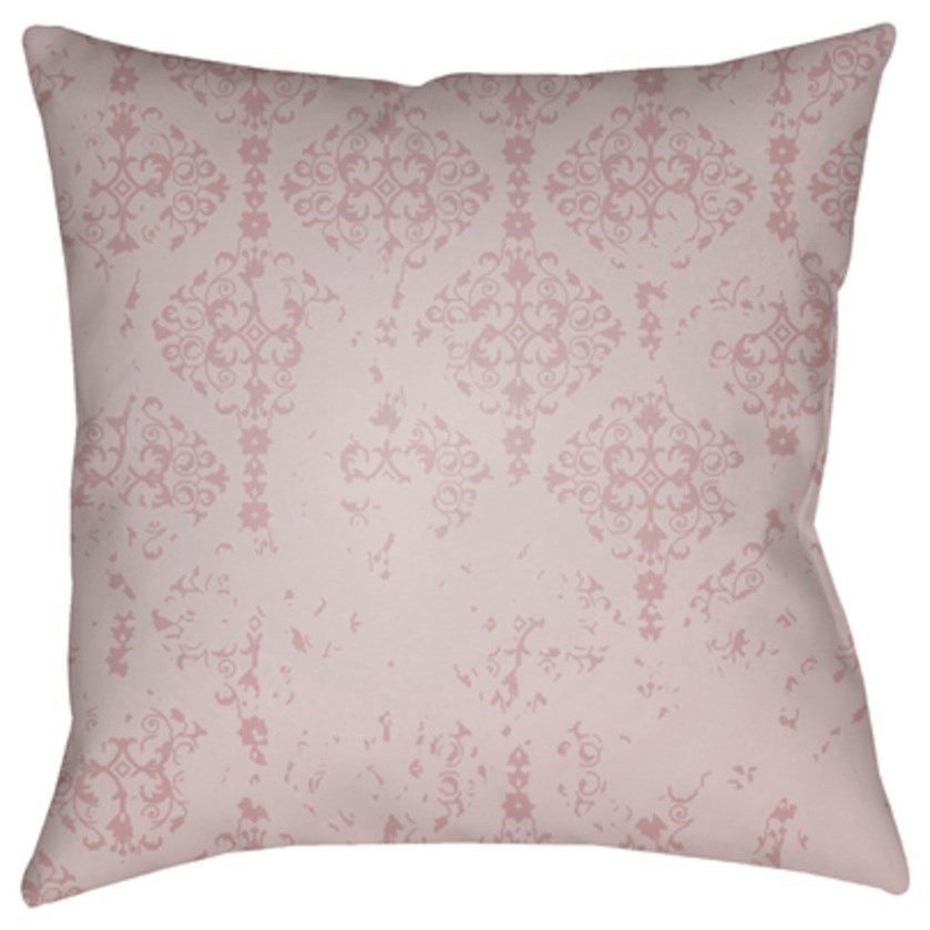 Surya Moody Damask Pillow - Item Number: DK013-2020