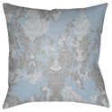 Surya Moody Damask Pillow - Item Number: DK021-2020