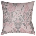 Surya Moody Damask Pillow - Item Number: DK023-1818