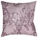 Surya Moody Damask Pillow - Item Number: DK024-1818