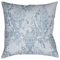 Surya Moody Damask Pillow - Item Number: DK025-2222