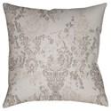 Surya Moody Damask Pillow - Item Number: DK026-1818