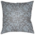 Surya Moody Damask Pillow - Item Number: DK030-2222