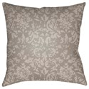 Surya Moody Damask Pillow - Item Number: DK031-1818