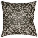 Surya Moody Damask Pillow - Item Number: DK032-2020