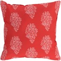 Surya Moody Floral Pillow - Item Number: MF015-2020