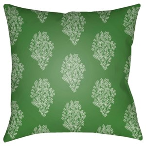 Surya Moody Floral Pillow