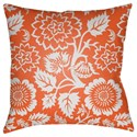 Surya Moody Floral Pillow - Item Number: MF023-1818
