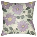 Surya Moody Floral Pillow - Item Number: MF029-1818