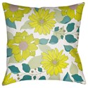 Surya Moody Floral Pillow - Item Number: MF032-2020