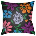 Surya Moody Floral Pillow - Item Number: MF042-2222