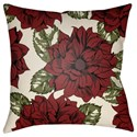Surya Moody Floral Pillow - Item Number: MF049-1818