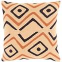 Surya Nairobi Pillow - Item Number: NRB008-1818D