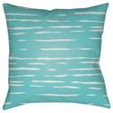 Surya Painted Stripes Pillow - Item Number: WRAN004-1818