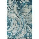 Ruby-Gordon Accents Pisces 8' x 10' Rug - Item Number: PIS1004-810