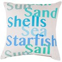 Surya Rain-4 Pillow - Item Number: RG089-1818