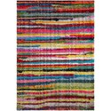 "Surya Rainbow Shag 5' 3"" x 7' 3"" Rug - Item Number: RWS6204-5373"