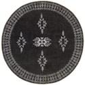 Surya Rajasthan 8' Round Rug - Item Number: RAJ2303-8RD