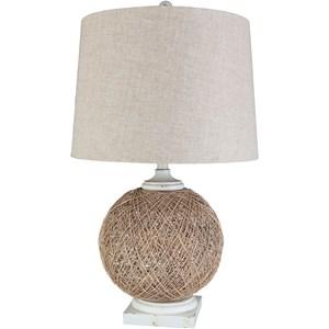 Surya Reeves Table Lamp