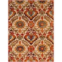 "Ruby-Gordon Accents Serapi 7' 10"" x 10' 6"" Rug - Item Number: SRP1016-710106"