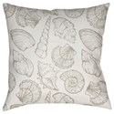 Surya Shells III Pillow - Item Number: SOL030-1818