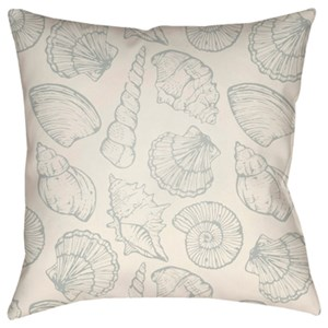 Surya Shells III Pillow