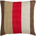 Surya Simple Stripe Pillow - Item Number: JS012-1818