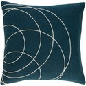 Surya Solid Bold Pillow - Item Number: SB033-2020P