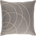 Surya Solid Bold Pillow - Item Number: SB034-2222D