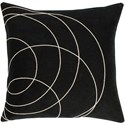 Surya Solid Bold Pillow - Item Number: SB036-2222D