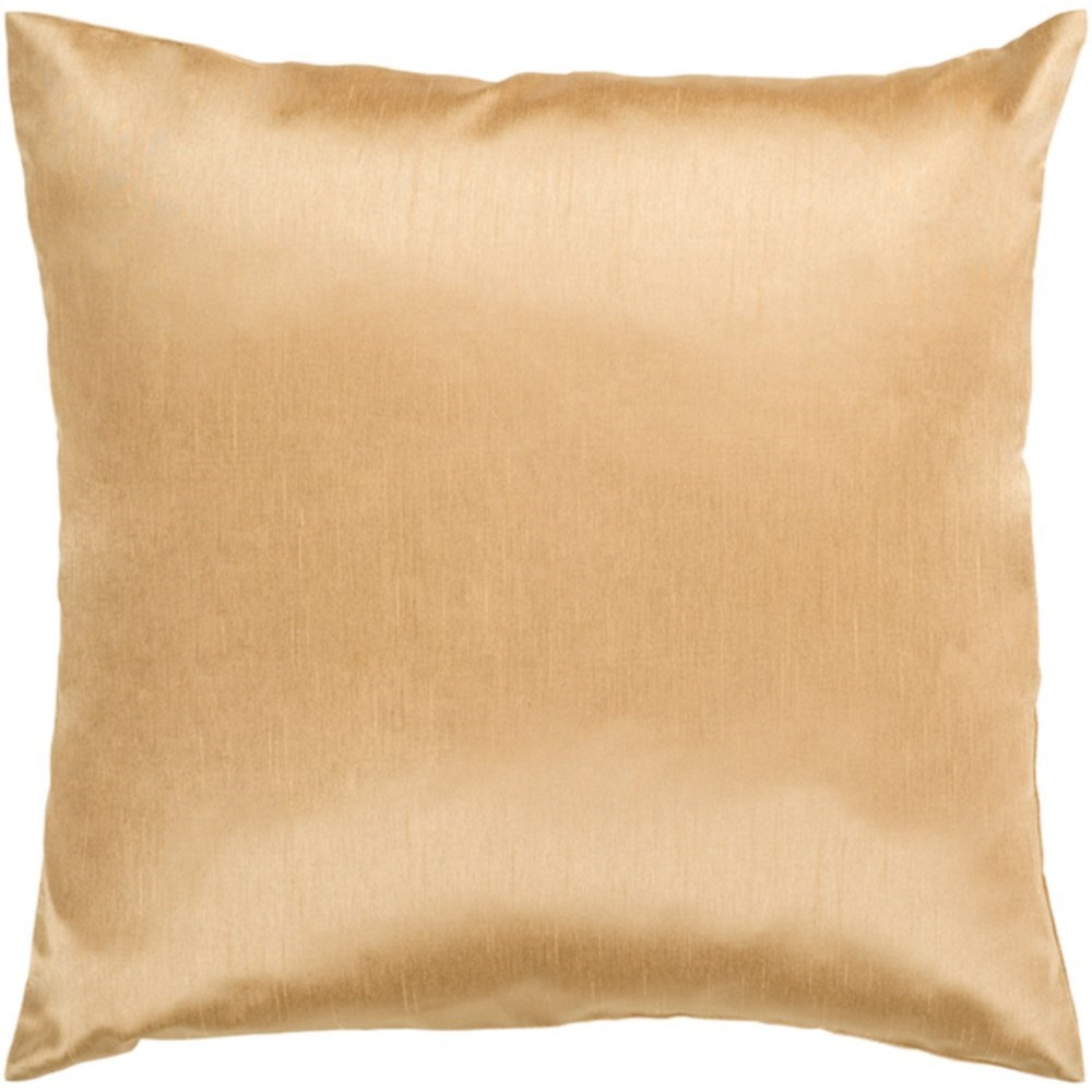 Surya Solid Luxe Pillow - Item Number: HH038-1818D