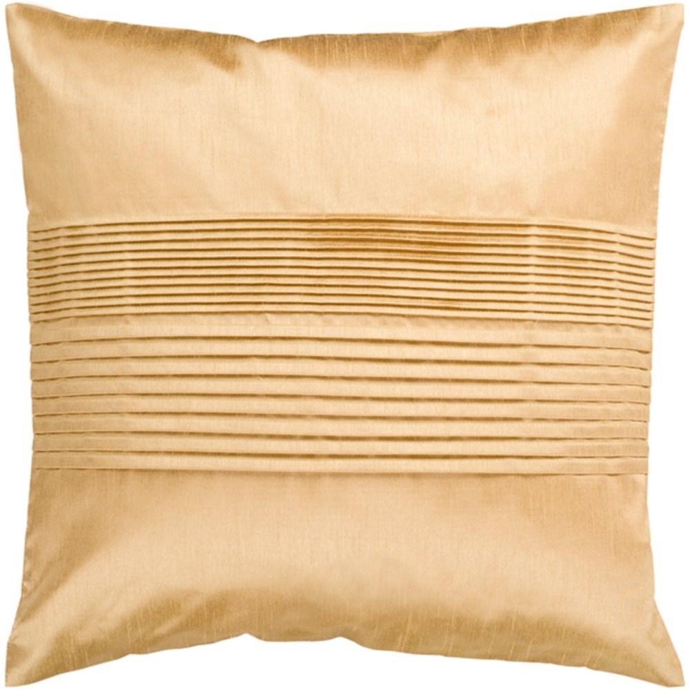 Surya Solid Pleated Pillow - Item Number: HH022-2222