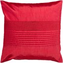 Surya Solid Pleated Pillow - Item Number: HH025-2222
