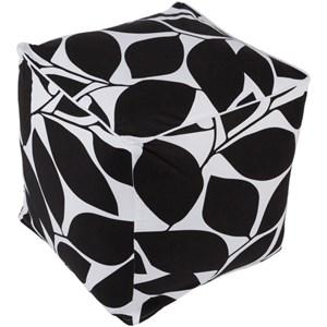 Surya Somerset Cube Pouf