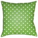 Surya Stars Pillow - Item Number: LIL082-1818