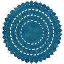 Surya Sundaze 8' Round Rug - Item Number: SDZ1002-8RD