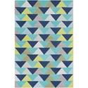 Surya Technicolor 2' x 3' Rug - Item Number: TEC1024-23