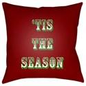 Surya Tis The Season II Pillow - Item Number: HDY107-1818